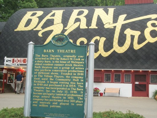 The Barn Theatre in Augusta, Michigan