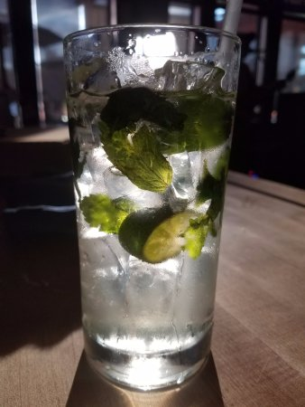 Bedford, Nueva Hampshire: Green tea mojito