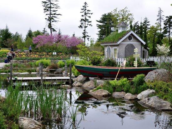 Boothbay, ME: Coastal Maine Botanical Gardens - Children's Garden, Another View