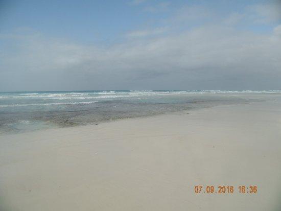 Praia de Santa Maria: okolí vraku Samta Maria