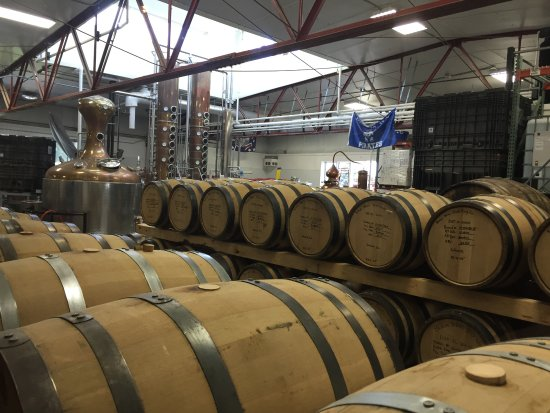 Galena, IL: Barrels for aging the products