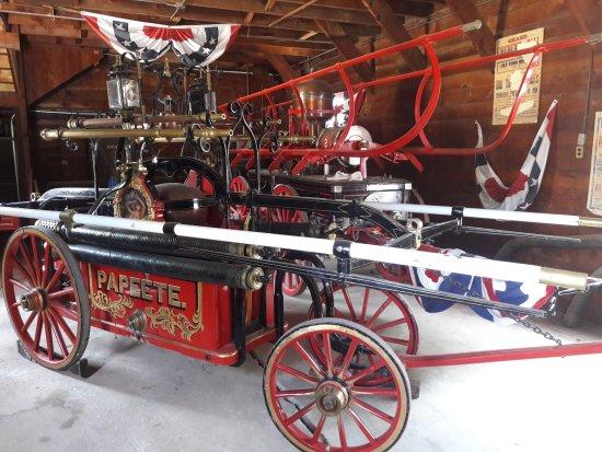 Columbia, CA: véhicule des pompiers