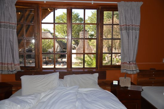 Outjo, Namibia: One of the cosy and spacious cottages (this being cottage number 1)