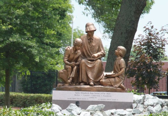 Emmitsburg, MD: Elizabeth Ann Seton, Mother, Teacher, Canonized Saint