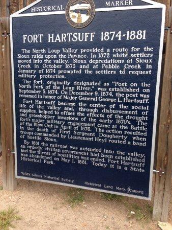 Burwell, NE: Description of Fort Hartsuff