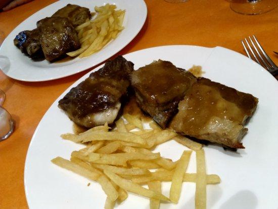 Isaba, Spanyol: Costillas