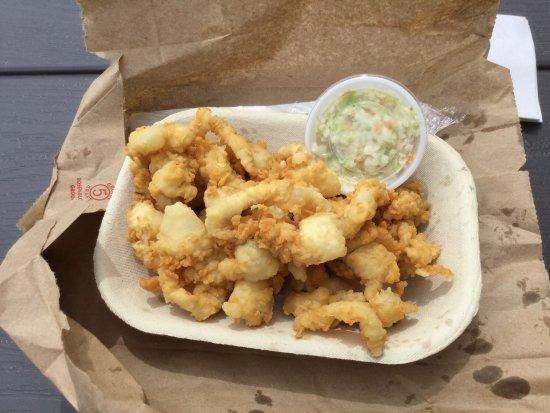 Cap-Pelé, Канада: Small order of fried clams