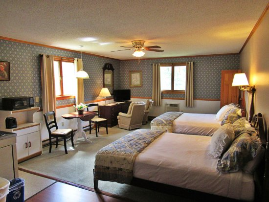 Twin Mountain, Nueva Hampshire: Deluxe Corner Room with 2 Queen Beds