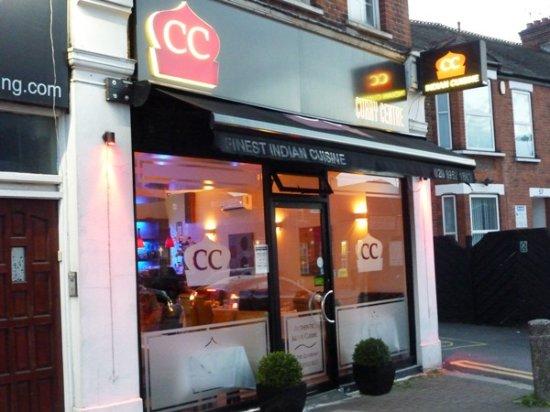 Edgware, UK: Curry Centre.