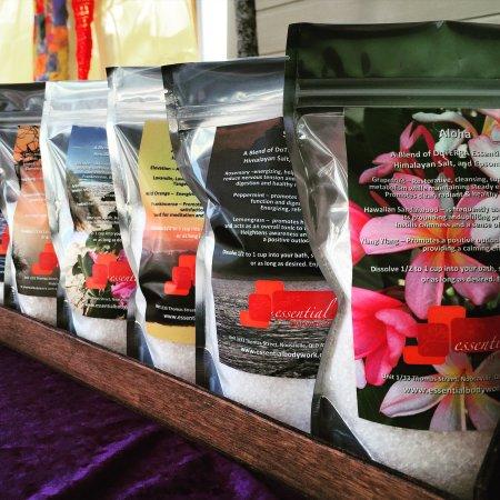 Noosaville, Australia: Aromatherapy Bath Salts available