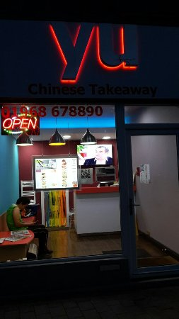 Penicuik, UK: Yu Chinese Takeaway