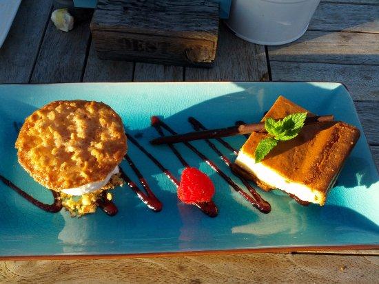 Callantsoog, Hollanda: Lekker ???????cheese cake heerlijk.