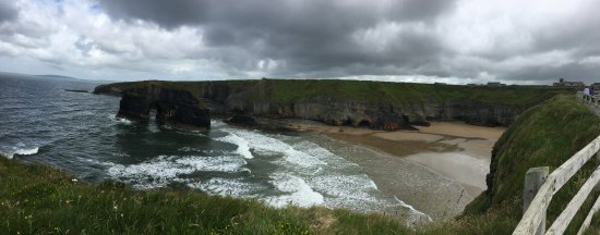 Nun's Beach view from the Cliff Walk, Ballybunion