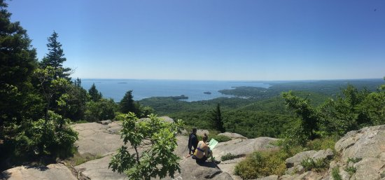 Camden, ME: A view from the top!