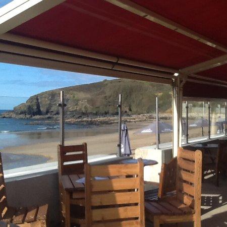Praa Sands, UK: Chillin at Beachcomber
