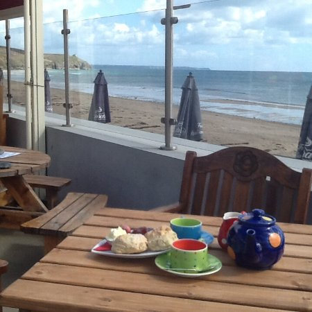Praa Sands, UK: Cream Tea