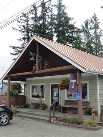 Quilcene, WA: Entrance