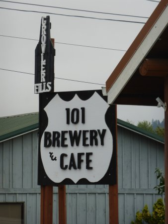 Quilcene, WA: Brewery too