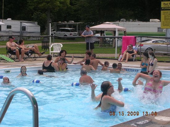 West Chazy, Νέα Υόρκη: plenty of space to cool off