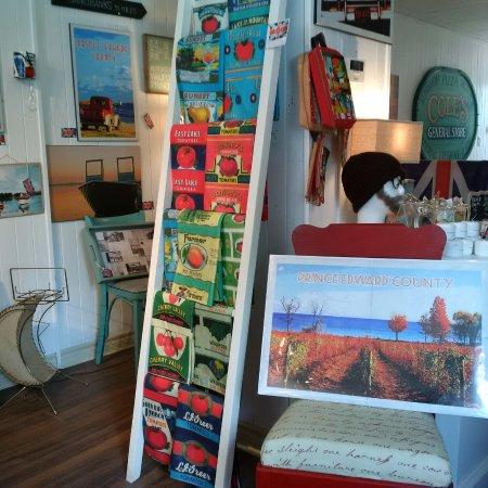Bloomfield, Canadá: Pretty displays of merchandise