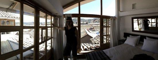 Samana Inn & Spa : City view roof top room