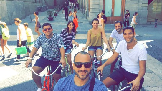 Fat Tire Bike Tours Barcelona: starting point