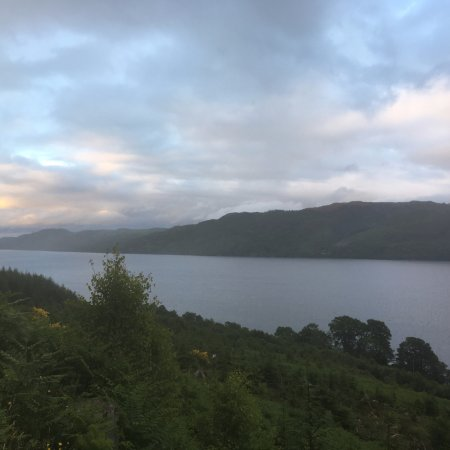 Invermoriston, UK: Views of Loch Ness from The Great Glen Way