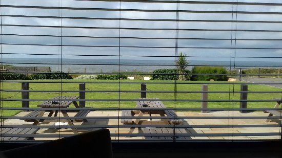 Seascale, UK: View from breakfast table - lovely.