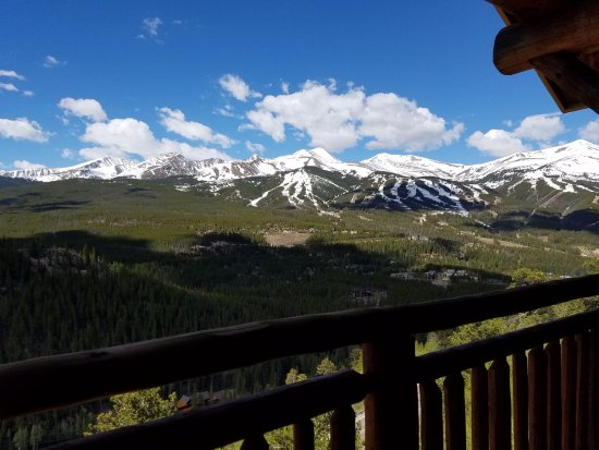 The Lodge at Breckenridge: View from Balcony
