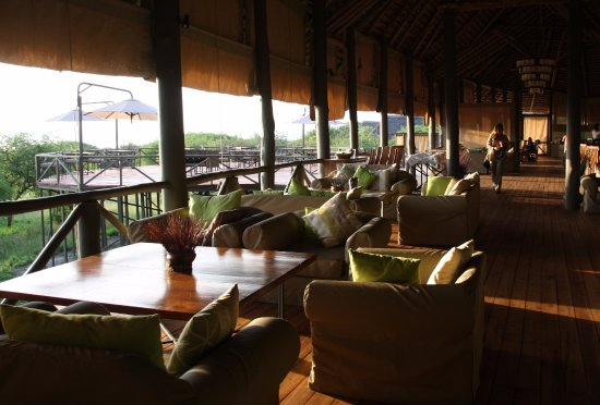 Lake Burunge Tented Camp: lobby do hotel