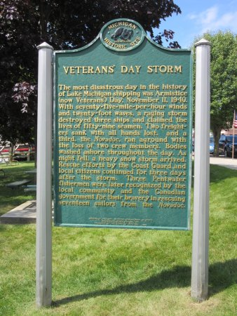 Pentwater, MI: Information about a Veterans Day Storm