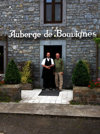 L'Auberge de Bouvignes: The man...the legend....Vincent!