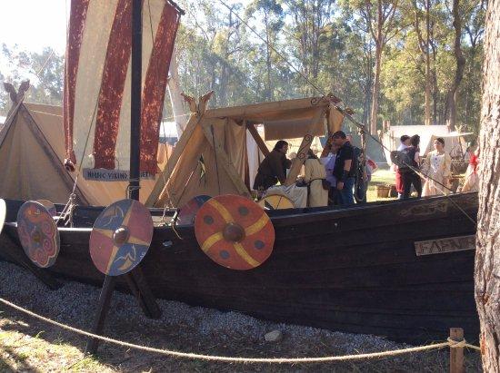 Caboolture, Australia: Viking Longboat