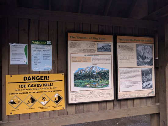Granite Falls, Waszyngton: Information Board