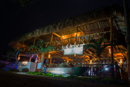 Palomino, Kolumbia: PrimaLuna Beach Hostel and Restaurant