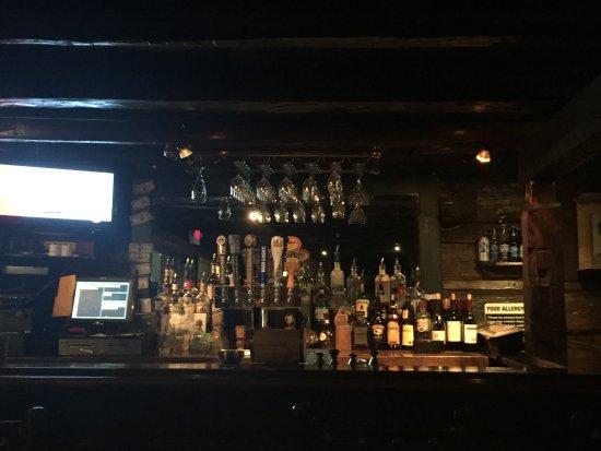Kirkwood, Kalifornia: The interior bar