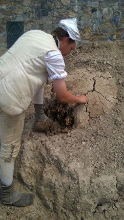 Ticonderoga, NY: Sealing up the cracks with fresh clay