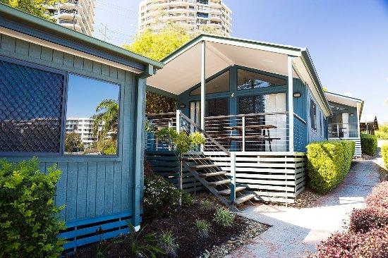 Burleigh Beach Tourist Park: Burleigh Beach two bedroom villas