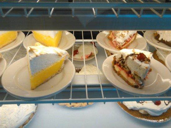 Machias, ME: Dessert display
