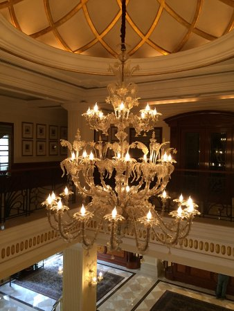 The Imperial Hotel: A stunner over the main lobby.