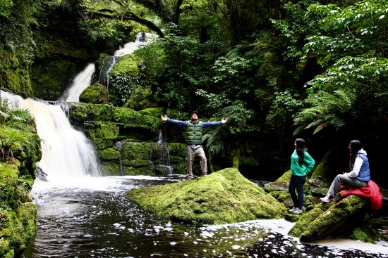 Invercargill, Nowa Zelandia: Mclean Falls - Southern Scenic Route