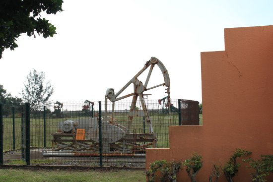 Seria, Brunei Darussalam: Oil Derrick Display