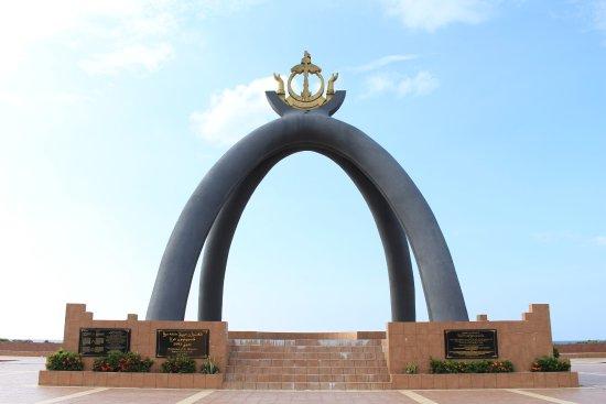 Seria, Brunei Darussalam: Billionth Barrel Monument