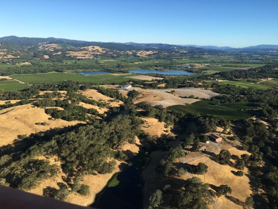 Up & Away Ballooning: Sonoma Valley as you've never seen it!