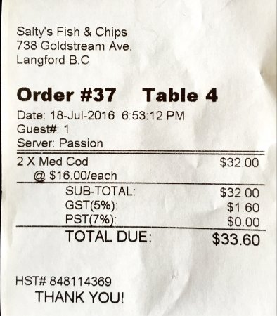 Salty's Fish & Chips: photo1.jpg