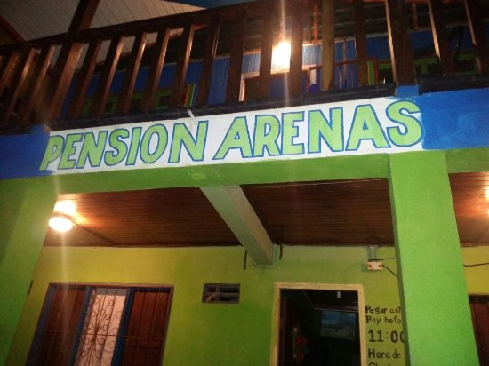 Pension Arenas