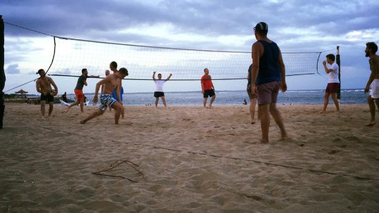 Club Med Bali: Beach Volleyball