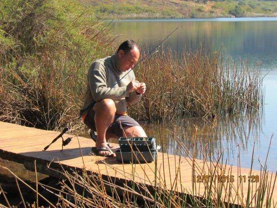 Haenertsburg, Sudáfrica: Honeymoon in the honeymoon cabin at Stanford Lake Lodge