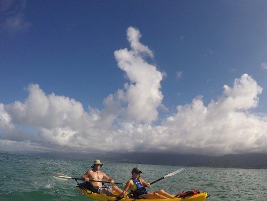 Hauula, Hawái: Kayaking