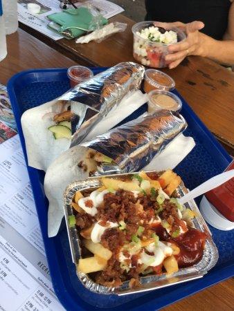 Al La Kebab: 2 Chicken Kebbas and Disco Fries